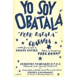 Sheet music YO SOY OBATALA