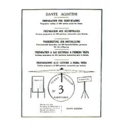 Dante Agostini PRÉPARATION AU DÉCHIFFRAGE VOL.3