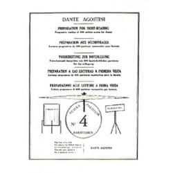 Dante Agostini PRÉPARATION AU DÉCHIFFRAGE VOL.4
