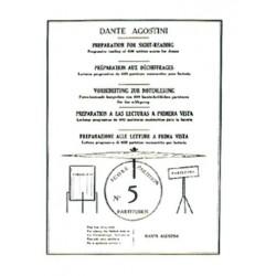 Dante Agostini PRÉPARATION AU DÉCHIFFRAGE VOL.5