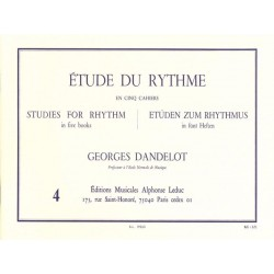 Georges Dandelot ÉTUDE DU RYTHME VOL.4