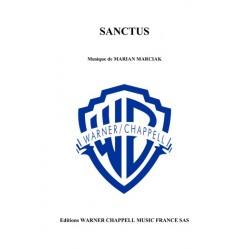 Sheet music SANCTUS Marian Marciak