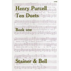 TEN DUETS BOOK ONE Henry Purcell