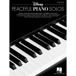 Partitions DISNEY PEACEFUL PIANO SOLOS Jerry Cleveland