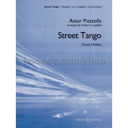 Partition STREET TANGO Astor Piazzolla