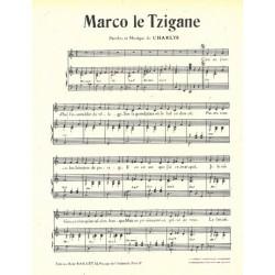Partition MARCO LE TZIGANE