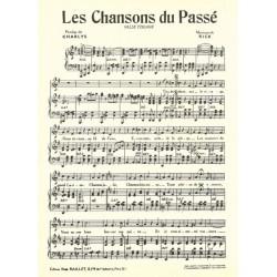 Partition LES CHANSONS DU PASSÉ