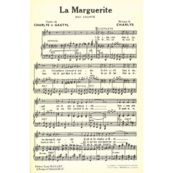 Partition LA MARGUERITE