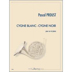 Partition CYGNE BLANC CYGNE NOIR Pascal Proust