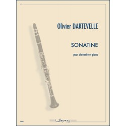 Partition SONATINE Olivier Dartevelle