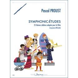Partition SYMPHONIC-ÉTUDES Pascal Proust
