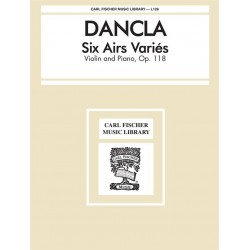 Partition SIX AIRS VARIÉS OP.118 Charles Dancla