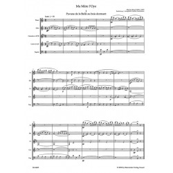 Partition MA MÈRE L'OYE Maurice Ravel