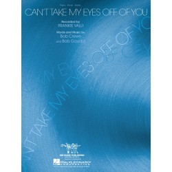 Sheet music CAN'T TAKE MY EYES OFF YOU Frankie Valli