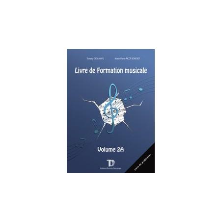 PROFESSEUR - LIVRE DE FORMATION MUSICALE VOL.2A