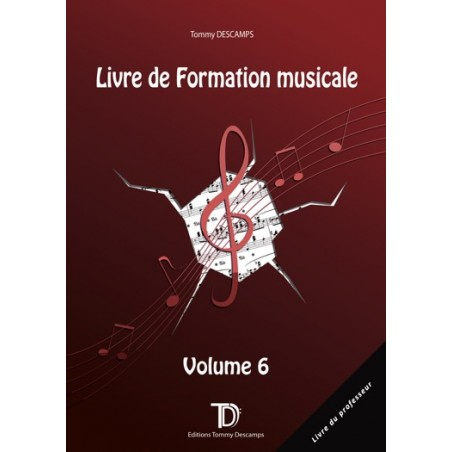 FORMATION MUSICALE VOL.6 - PROFESSEUR