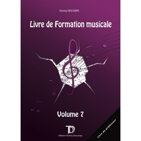 FORMATION MUSICALE VOL.7 - PROFESSEUR