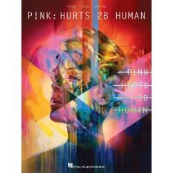 Songbook HURTS 2B HUMAN Pink