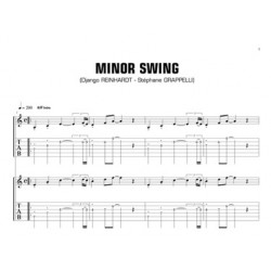 Sheet music Minor Swing (Reinhardt-Grappelli)