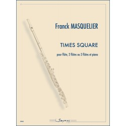 Sheet music TIMES SQUARE Franck Masquelier