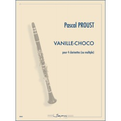 Sheet music VANILLE-CHOCO Pascal Proust