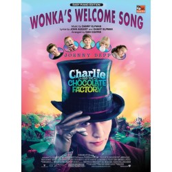 Sheet music WONKA'S WELCOME SONG Danny Elfman