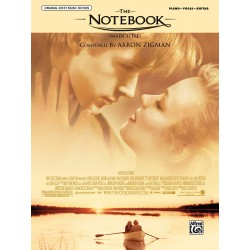 Sheet music THE NOTEBOOK Aaron Zigman