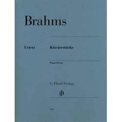 Partition PIANO PIECES Johannes Brahms