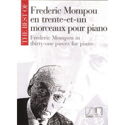 Partition THE BEST OF FREDERIC MOMPOU