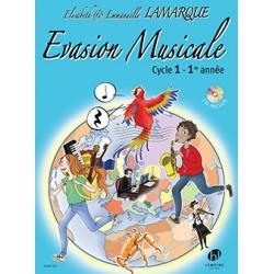 Musical training ÉVASION MUSICALE CYCLE 1 Emmanuelle et Elisabeth LAMARQUE