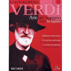 Cantolopera : Verdi Arias for Soprano (+ CD)
