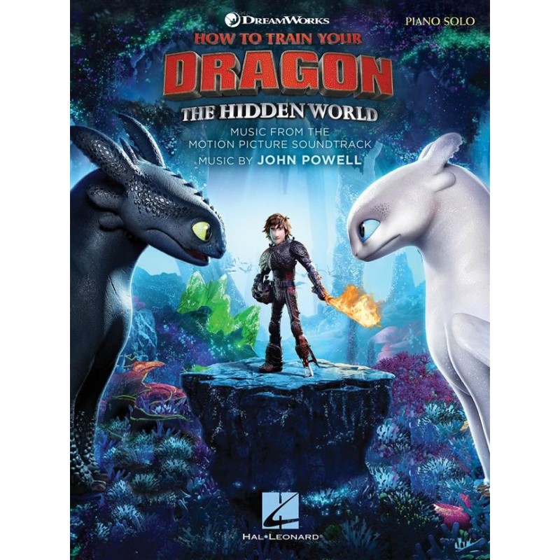Songbook HOW TO TRAIN YOUR DRAGON THE HIDDEN WORLD John Powell