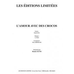Partition L'AMOUR AVEC DES CROCOS Roméo ELVIS