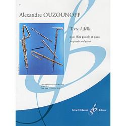 Partition TERRE ADÉLIE Alexandre Ouzounoff