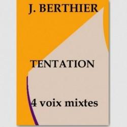 Sheet music TENTATION (SATB)