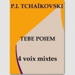 Partition TEBE POEM (SATB)