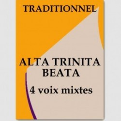 Partition ALTA TRINIT BEATA (SATB)