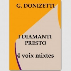 Partition I DIAMANTI PRESTO (SATB.ORCH)