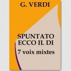 Partition SPUNTATO ECCO IL DI (SSATTBB.ORCH)