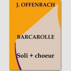 Partition BARCAROLLE (SOLI.SA.STTB.ORCH)