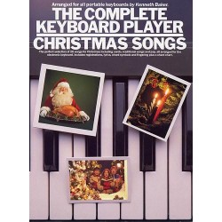 Songbook THE COMPLETE KEYBOARD PLAYER CHRISTMAS SONGS