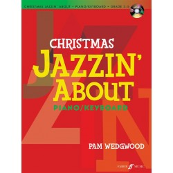 Songbook CHRISTMAS JAZZIN' ABOUT Pam Wedgwood