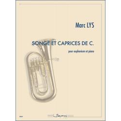 Partition SONGE ET CAPRICES DE C Marc Lys