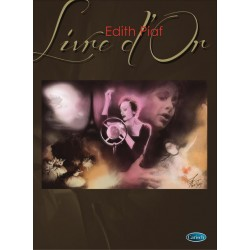 Songbook LIVRE D'OR EDITH PIAF