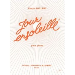 Sheet music JOUR ENSOLEILLÉ Pierre Auclert