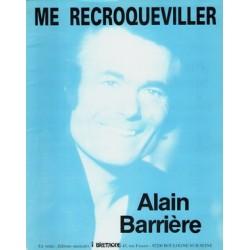 Partition ME RECROQUEVILLER Alain Barrière