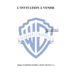 Partition L'INVITATION À VENISE Nilda Fernandez