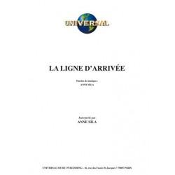 Partition LA LIGNE D'ARRIVÉE Anne SILA