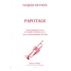Partition PAPOTAGE Jacques DEVOGEL