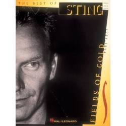Songbook THE BEST OF STING FIELDS OF GOLD